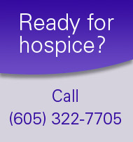 request hospice services