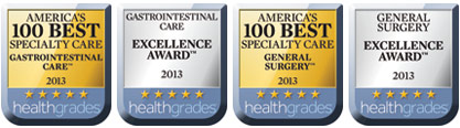 2013 Healthgrades awards