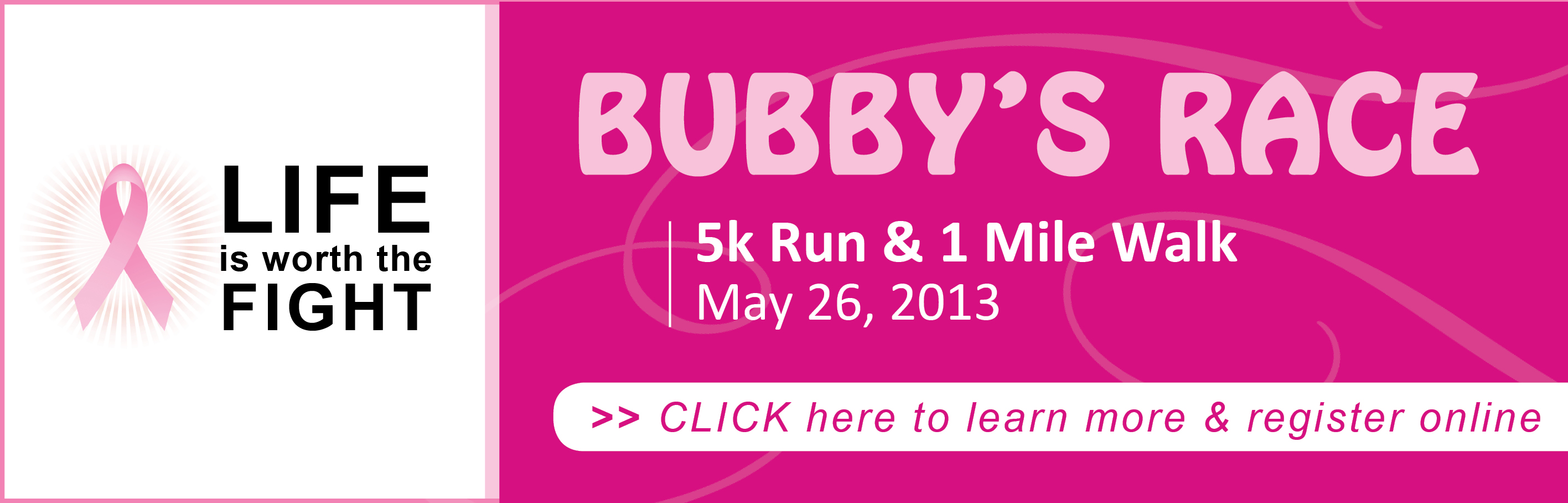 Bubby's Race - click to learn more or register online