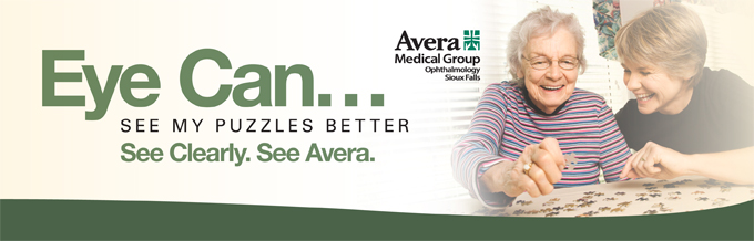 Eye care at Avera.