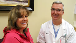 dr. dosch and patty larson