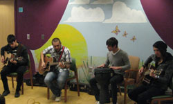 May 6th - WILLET performed for the Children & Adolesecent programs