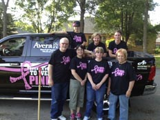 Tough Enough to Wear Pink Avera Marshall
