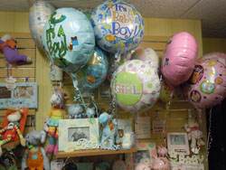Balloons for newborns.