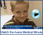 Avera Medical Minute Video
