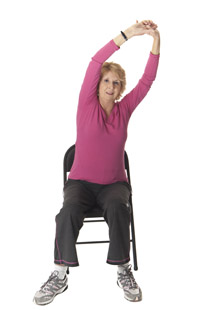 Group Chair Exercise Class