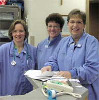 Nurses at the Kidney Unit