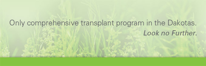 Comprehensive transplant program.