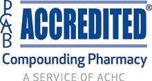 pcab accredited compounding pharmacy logo