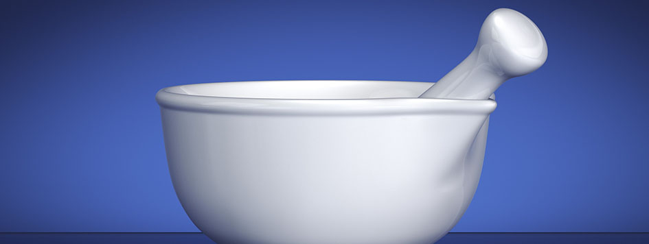 pharmacy mixing bowl