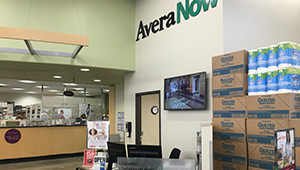 AveraNow in Hy-Vee on Marion Road