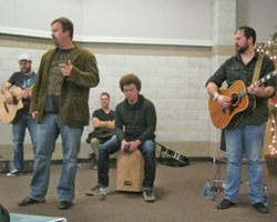 Casting Crowns playing 4-20-12