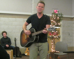Matthew West playing 4-20-12