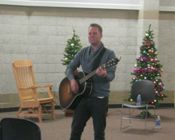 Matthew West visits ABHC