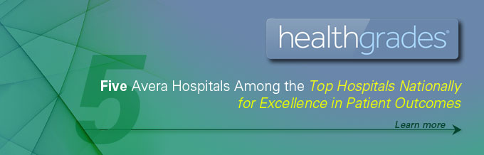 Avera hospitals among the top hospitals nationally - Healthgrades