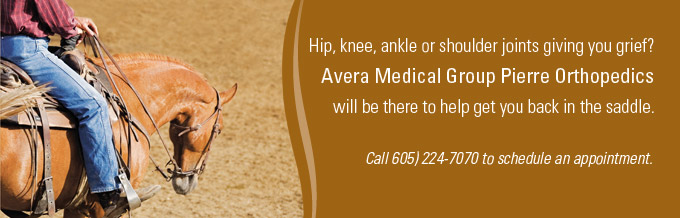 Avera Medical Group Pierre Orthopedics