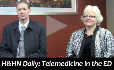 H&HN Daily: Telemedicine in the ER Video