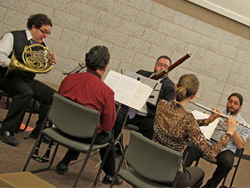 Wind Quintet at Behavioral Health