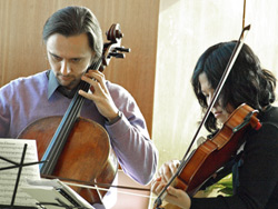 String Quartet at the Prairie Center