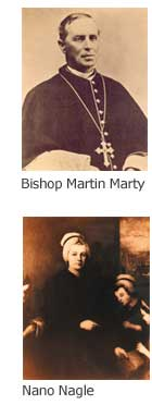 Bishop Martin Marty & Sister Nano Nagle