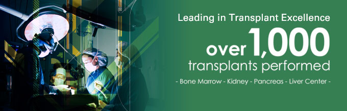Avera Transplant Institute - over 1000 transplants performed