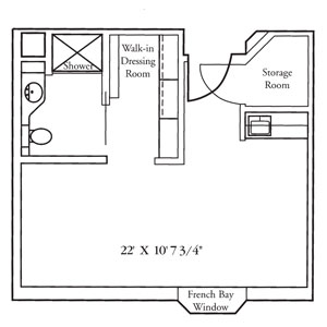 Oakwood One Bedroom Floor Plan
