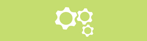 gears icon - on the job training