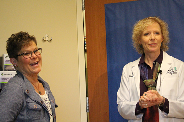 melissa fox and julie reiland, md