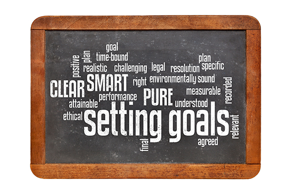 Setting Goals Chalkboard