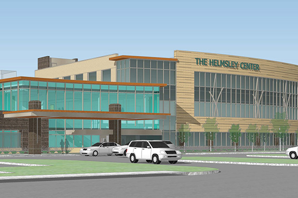 Helmsley Center Rendering