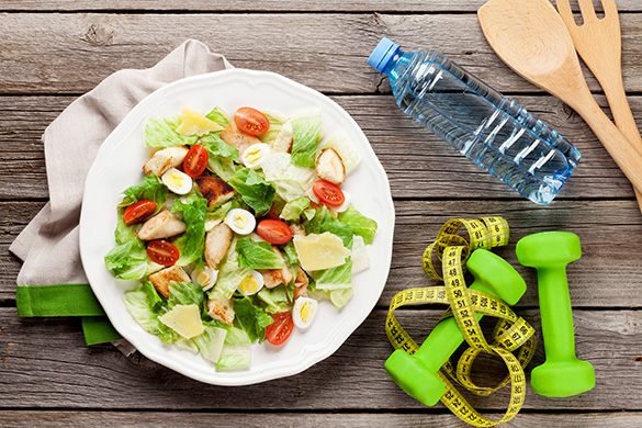exercise and nutrition for weightloss