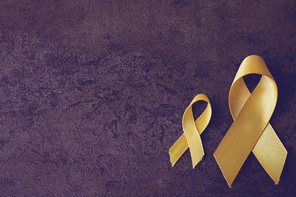lung cancer yellow ribbon