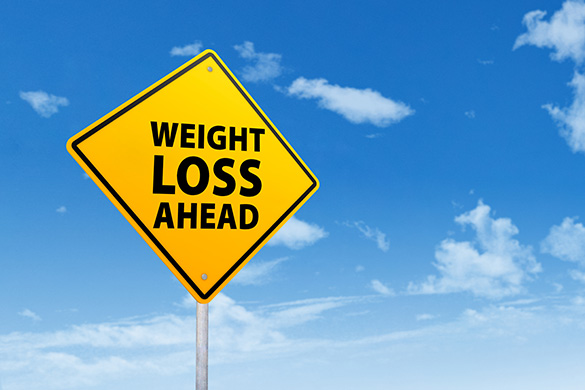 weight loss signpost