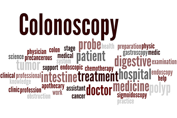 colonoscopy and related words