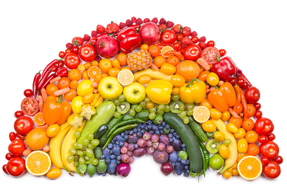 colorful foods rainbow