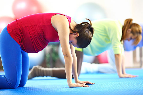 Help Pregnancy Back Pain with Stretching