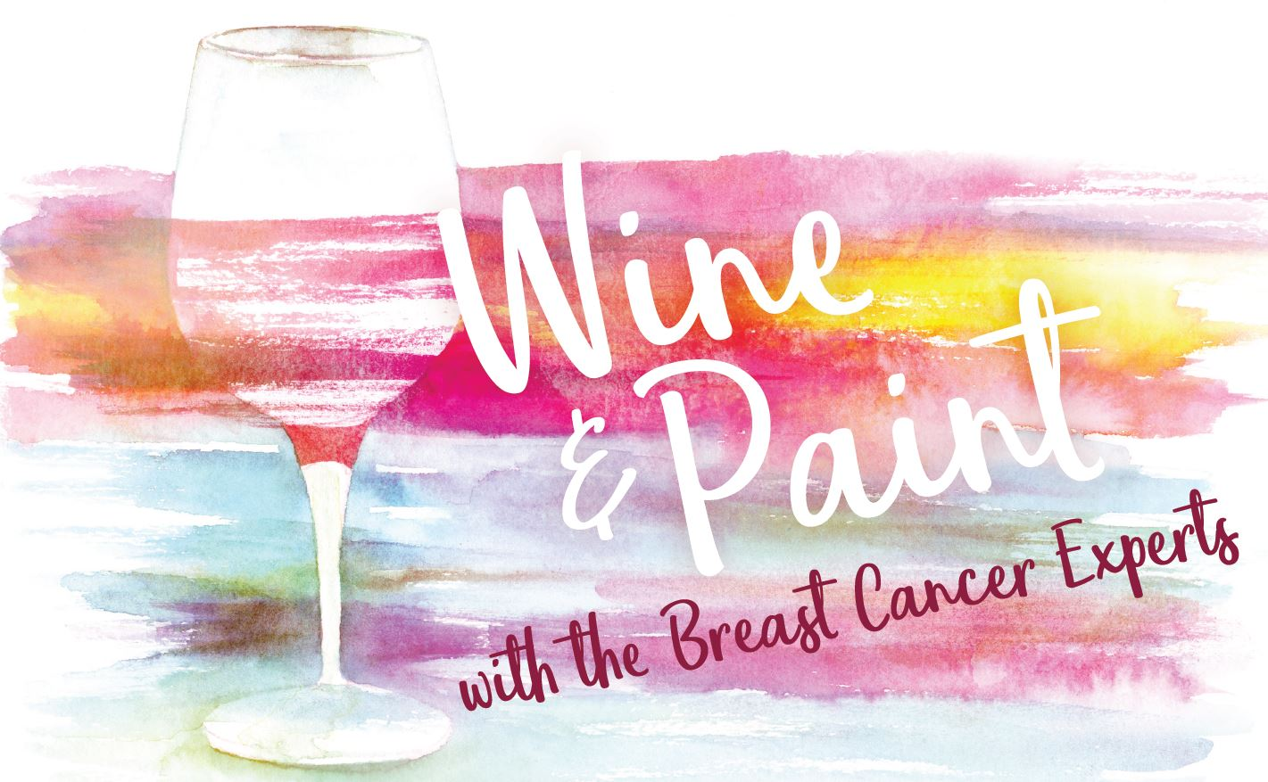 Wine and Painting with Breast Cancer Experts