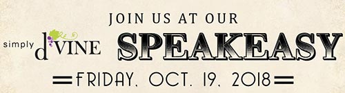 Simply d'Vine Speakeasy Banner