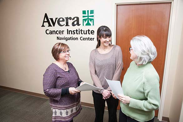 Avera Cancer Institute Navigation Center Staff