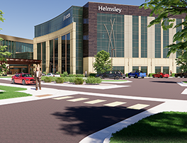 Avera Behavioral Health Addition Rendering