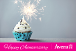 Happy Aniversary (cupcake)